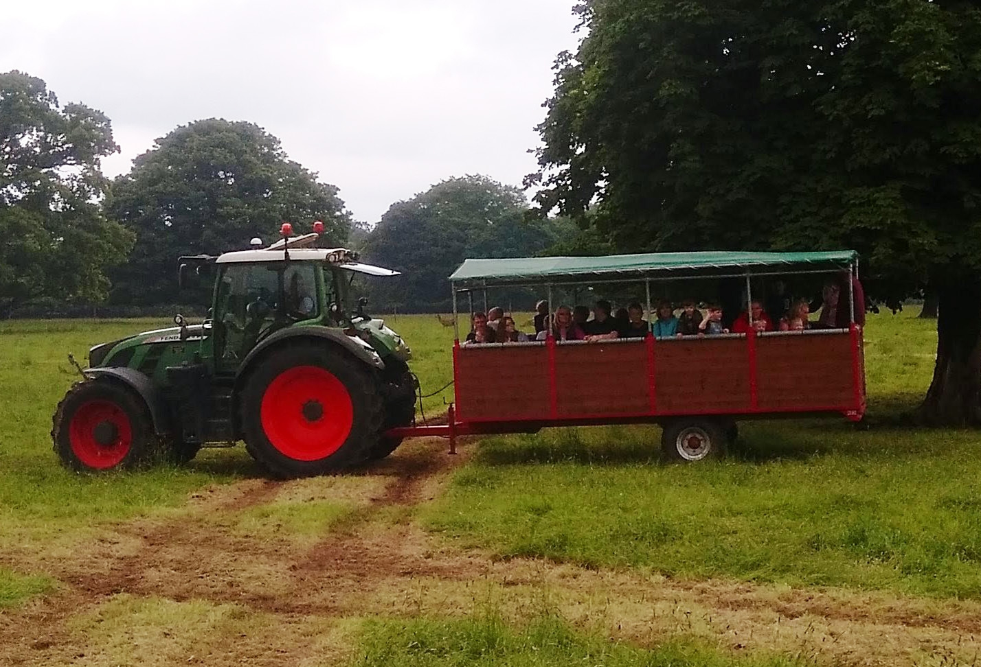 a sledmere tractor