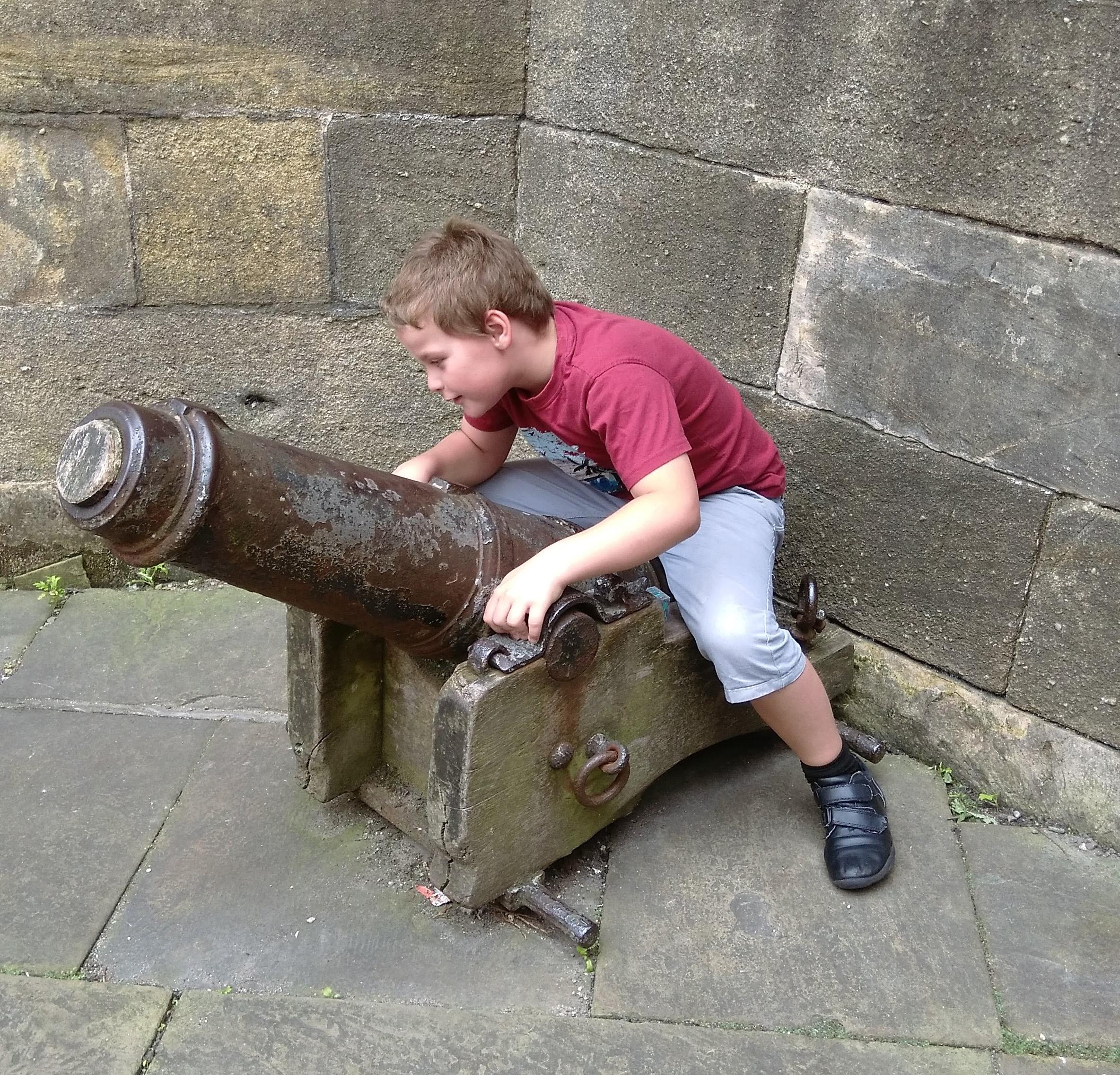 castle museum cannon
