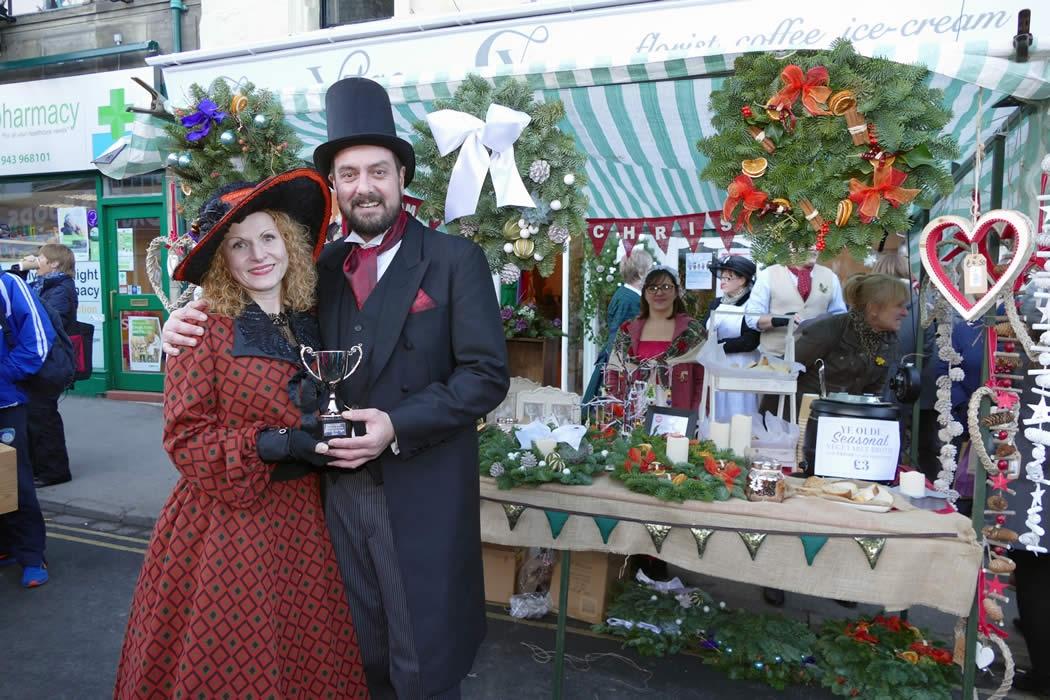 Otley Victorian Fayre and Christmas Market Yorkshire