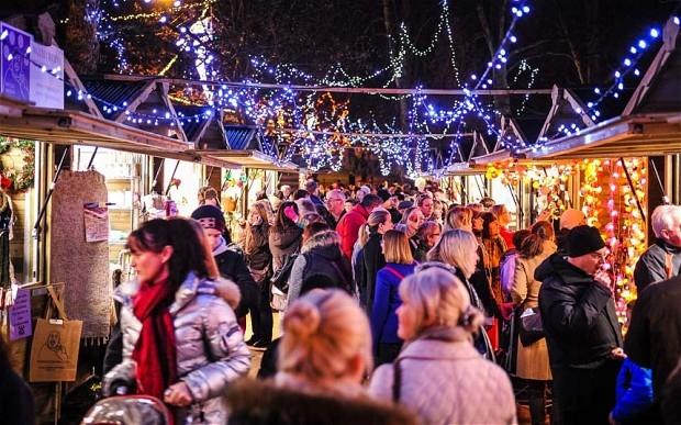 Harrogate Christmas Markets Yorkshire