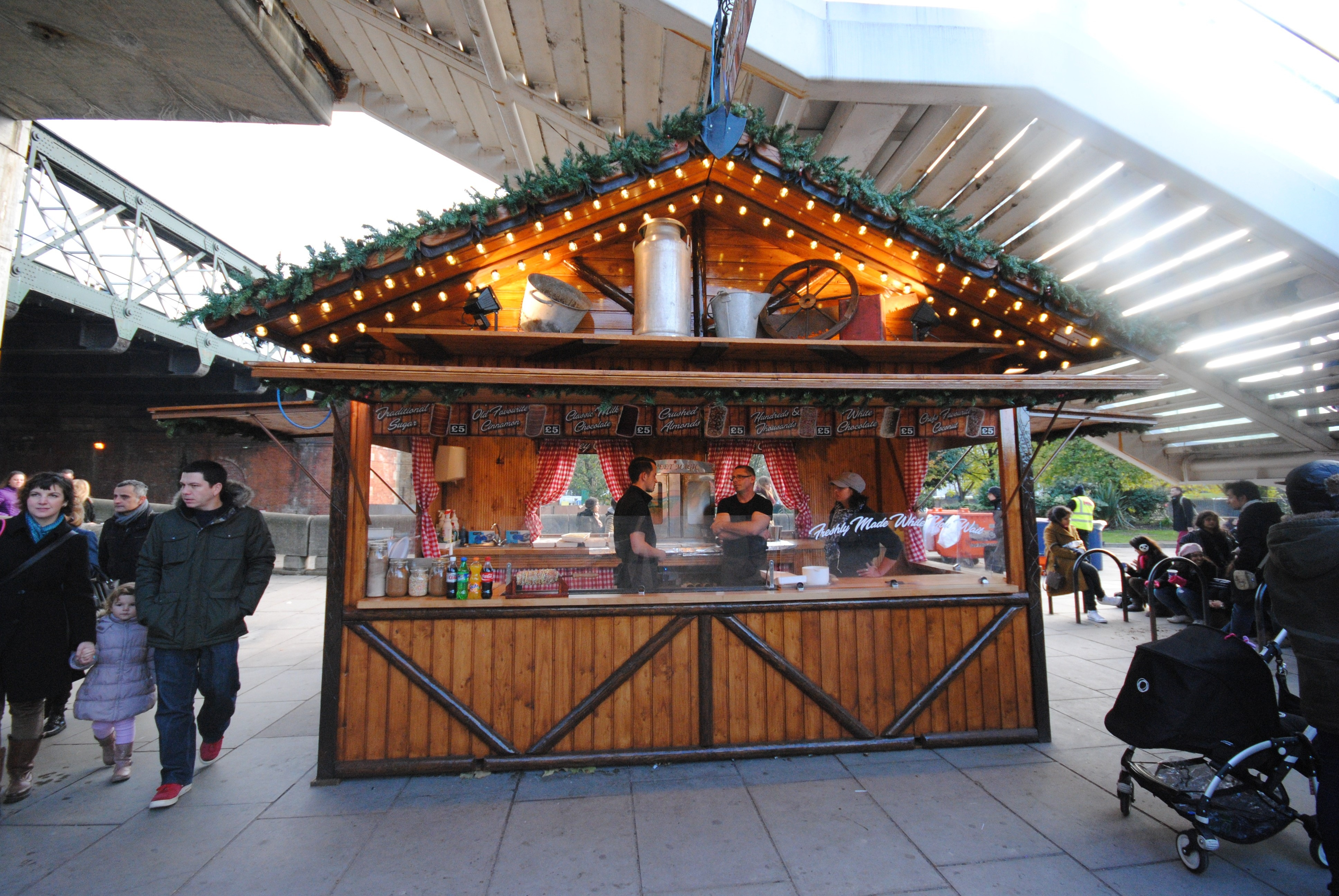 Southbank Christmas Market London