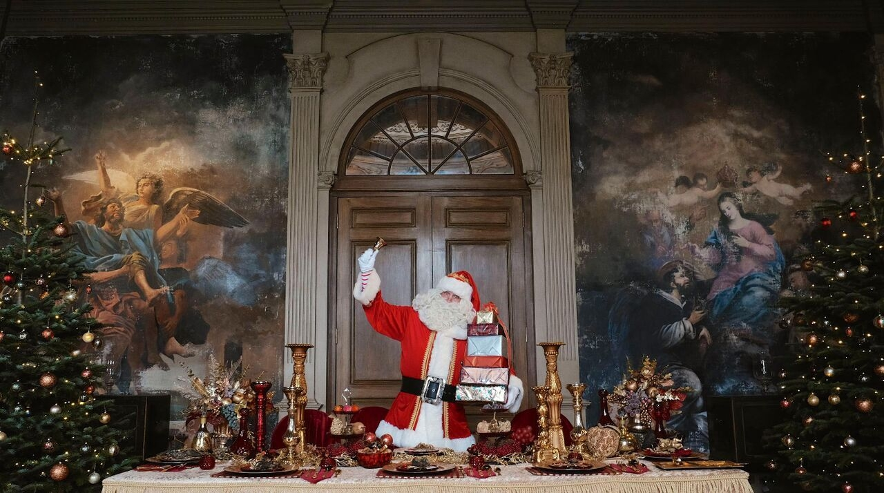 castle howard father christmas