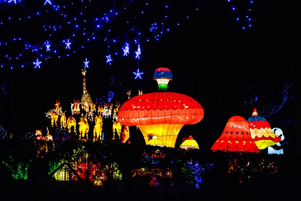 magical lantern festival yorkshire christmas