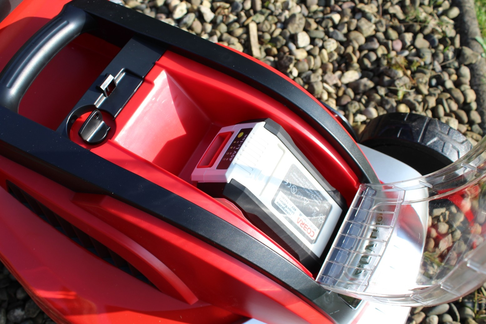 Cobra MX4140V Lithium-ion 40V Cordless Lawnmower - Review (5)