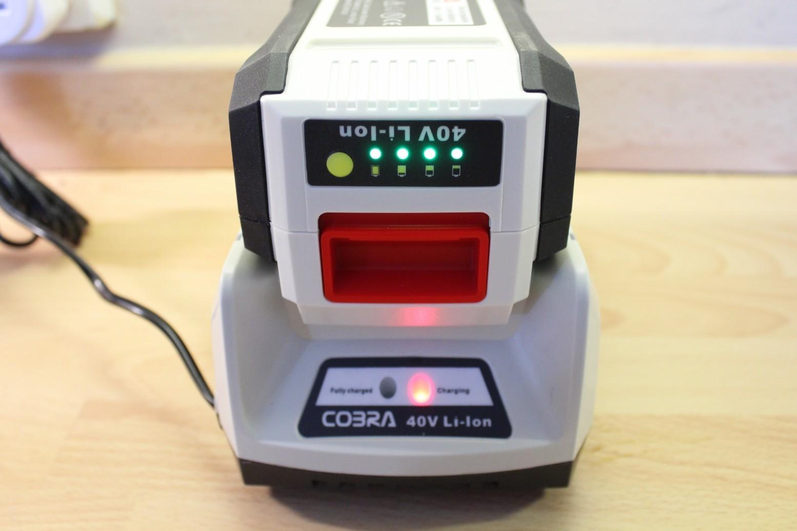 Cobra MX4140V Lithium-ion 40V Cordless Lawnmower - Review (3)