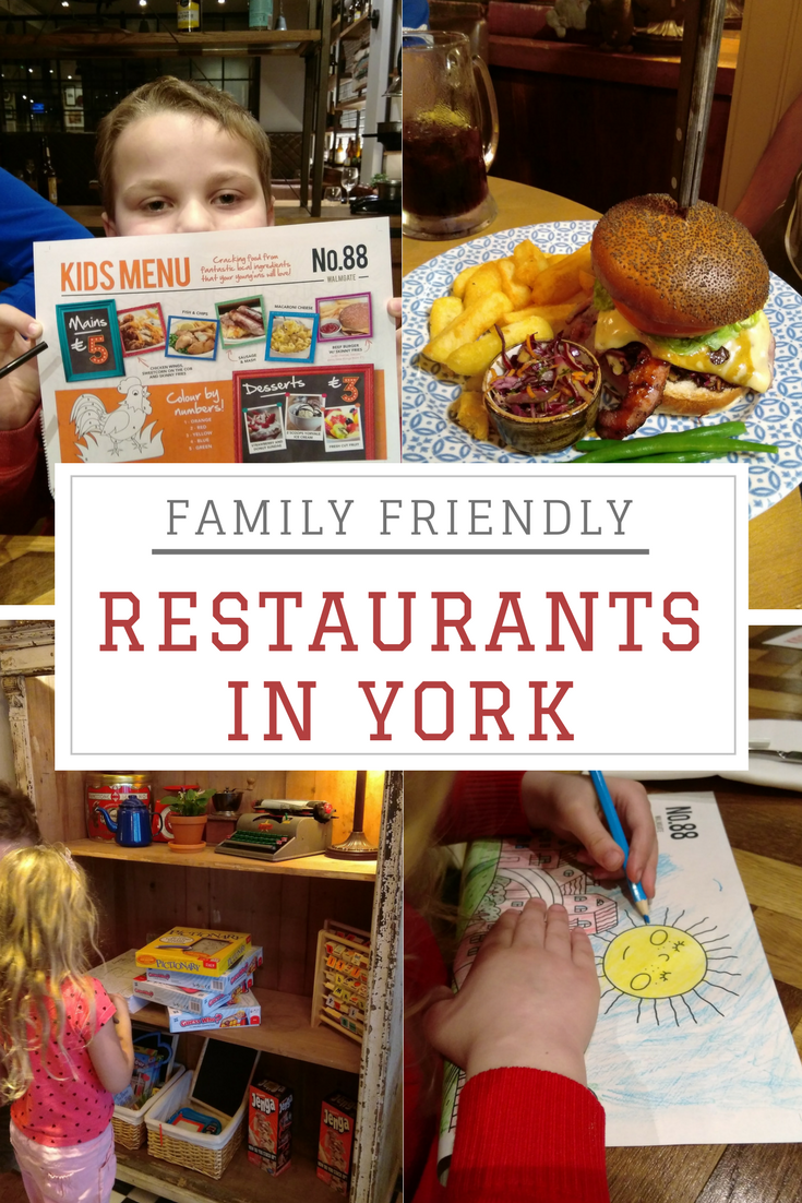 family friendly restaurants in york pinterest