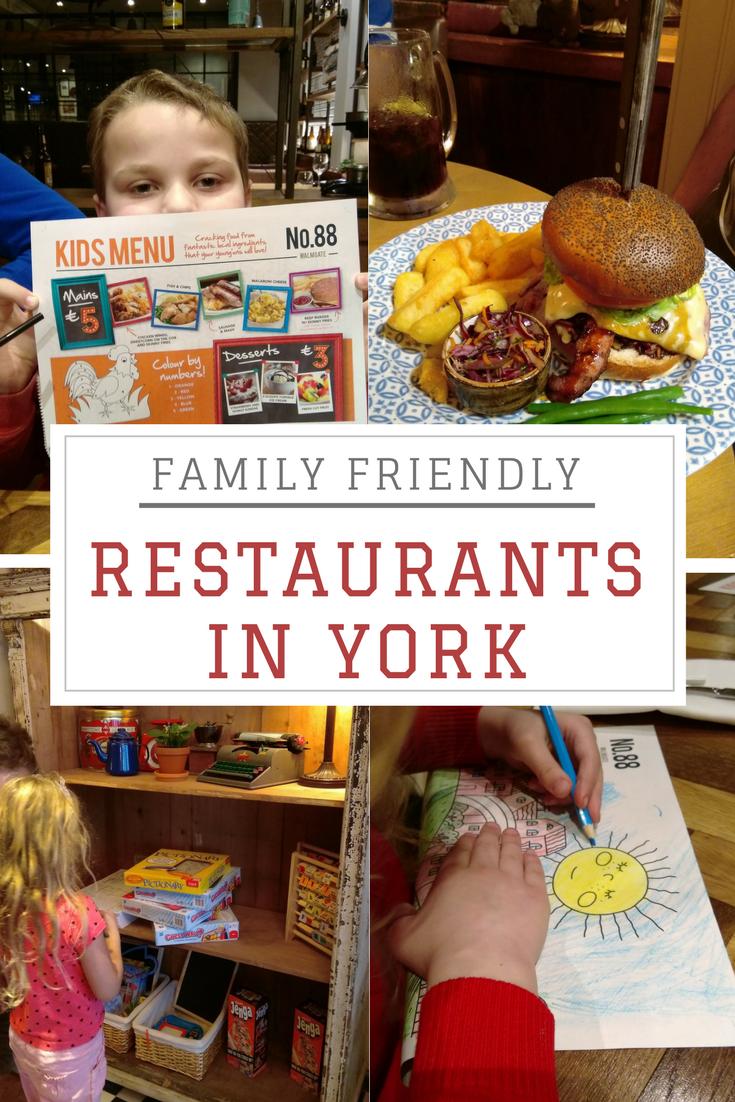 family friendly restaurants in york pinterest
