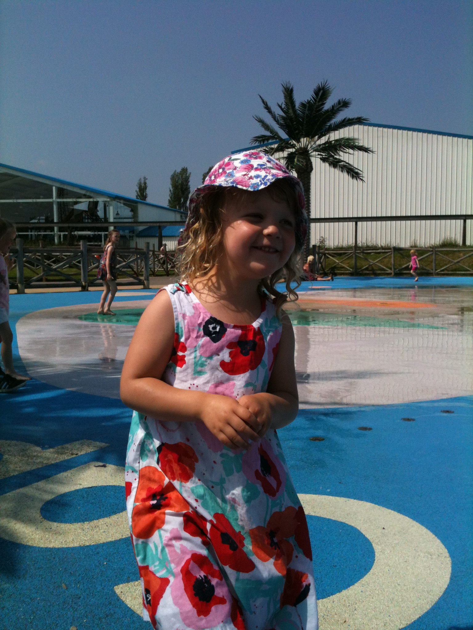 splash zone flamingo land