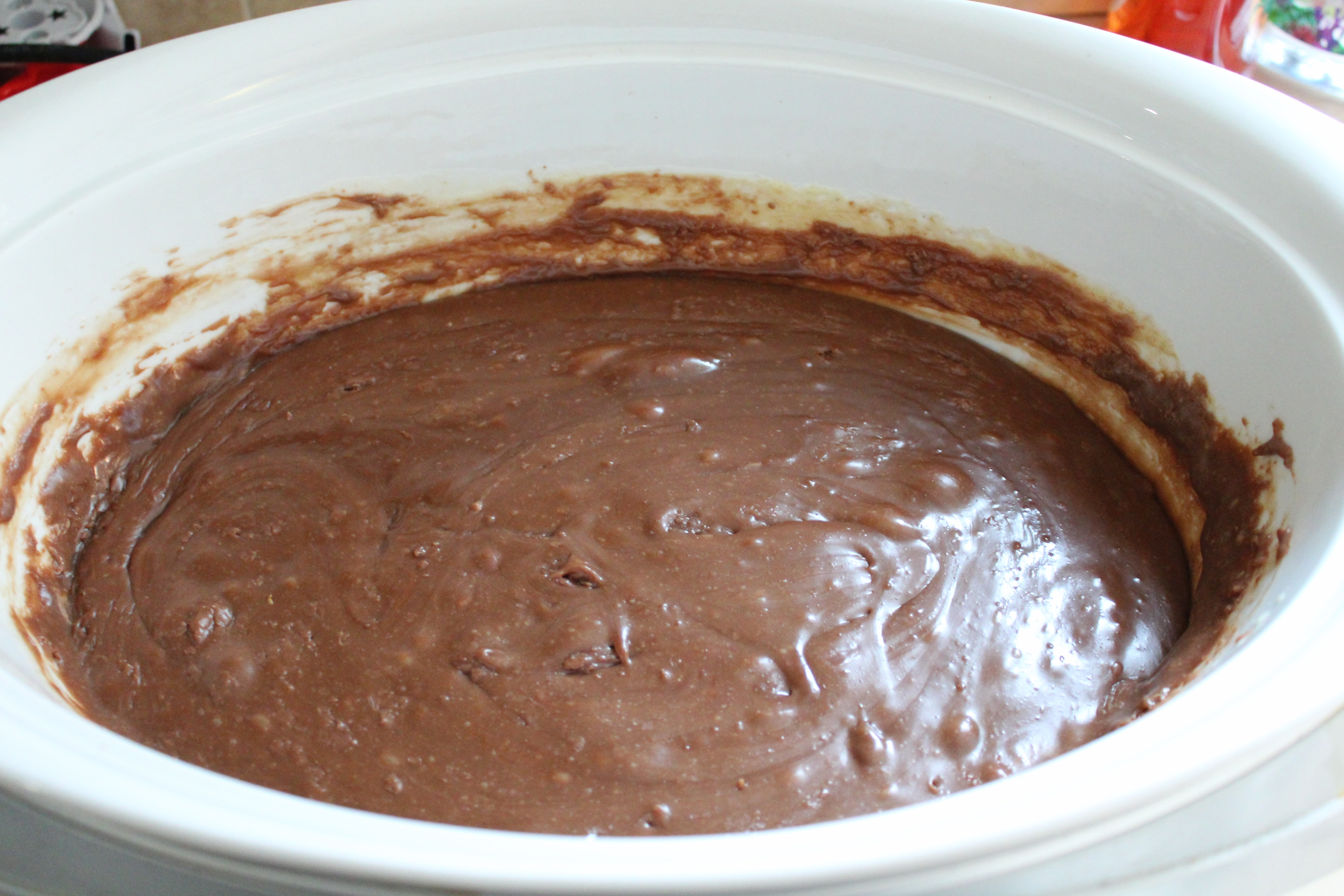 slow cooker crockpot mars bar chocolate fudge (5)