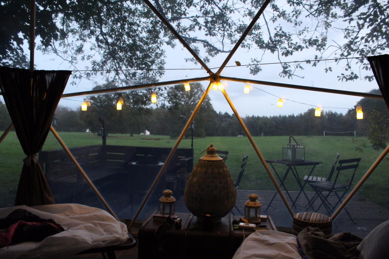 Camp Katur Glamping North Yorkshire Geodome Review (18)