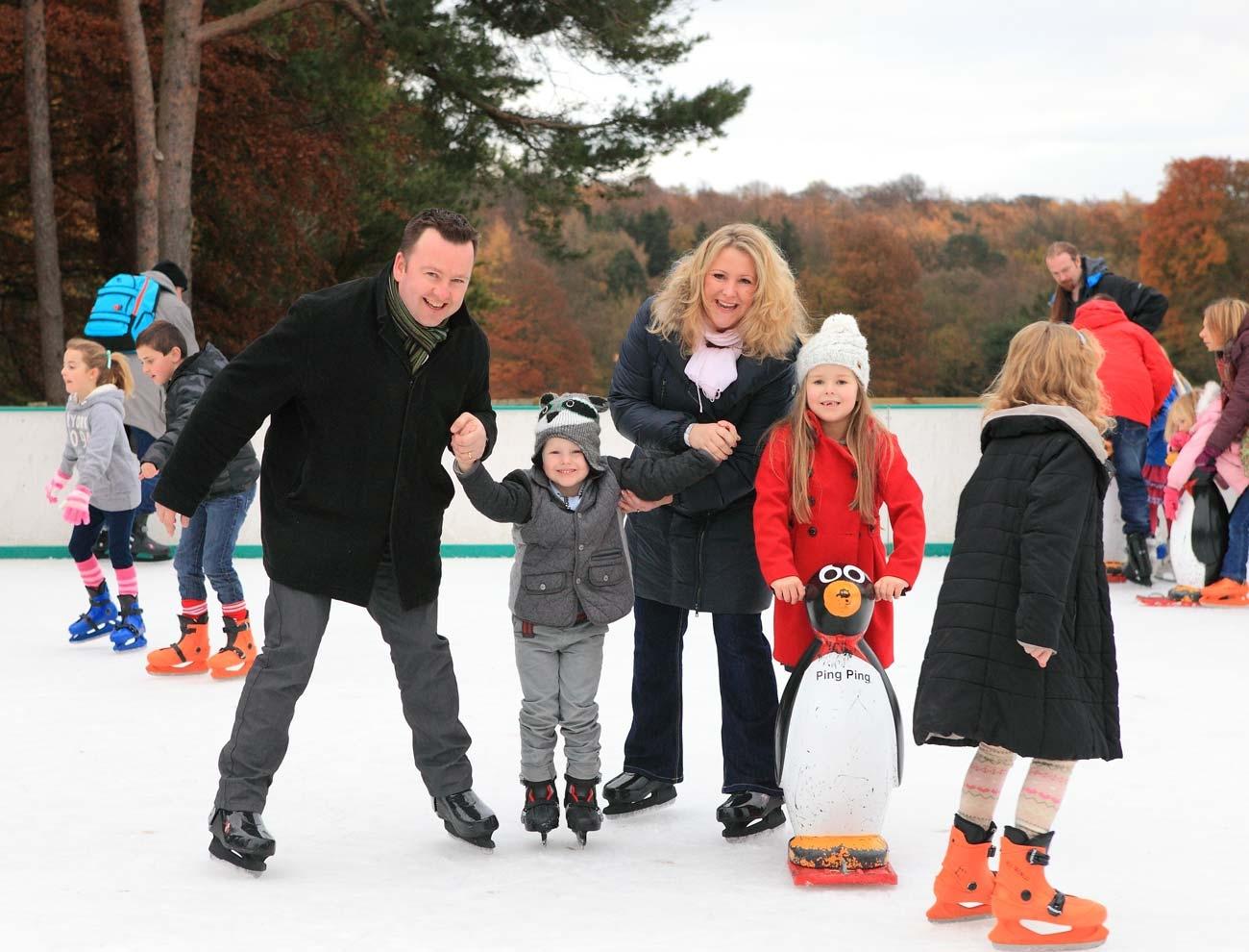 stockeld park christmas ice rink