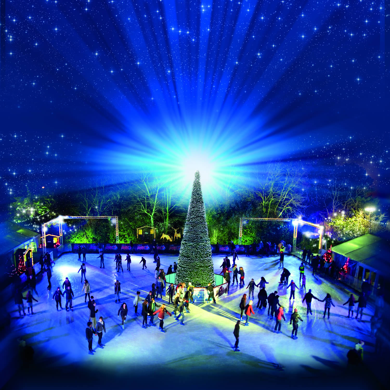 Festive Christmas Ice Skating In Yorkshire 2018