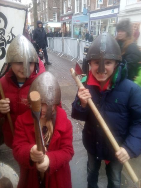 Jorvik Viking Festival Helmets