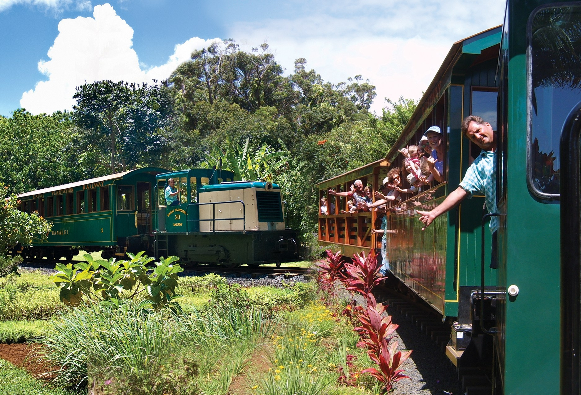 cool things to do in Kauai, Hawaii (train)