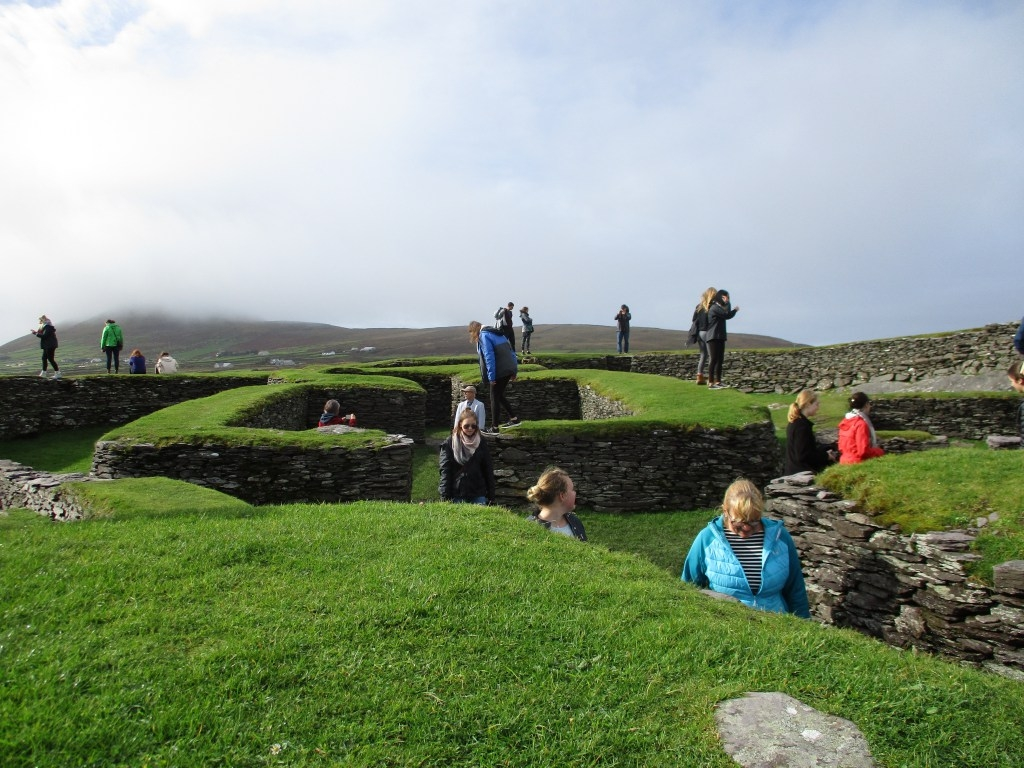 Leacanabuile Stone Fort, Ring of Kerry, Ireland