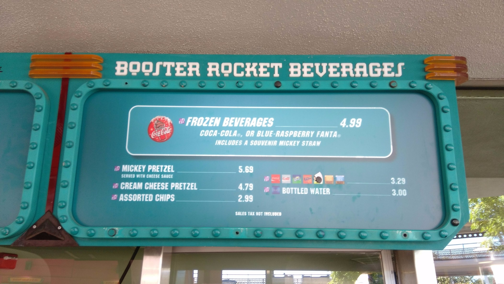 Lunching Pad Magic Kingdom Snack Credits (2)