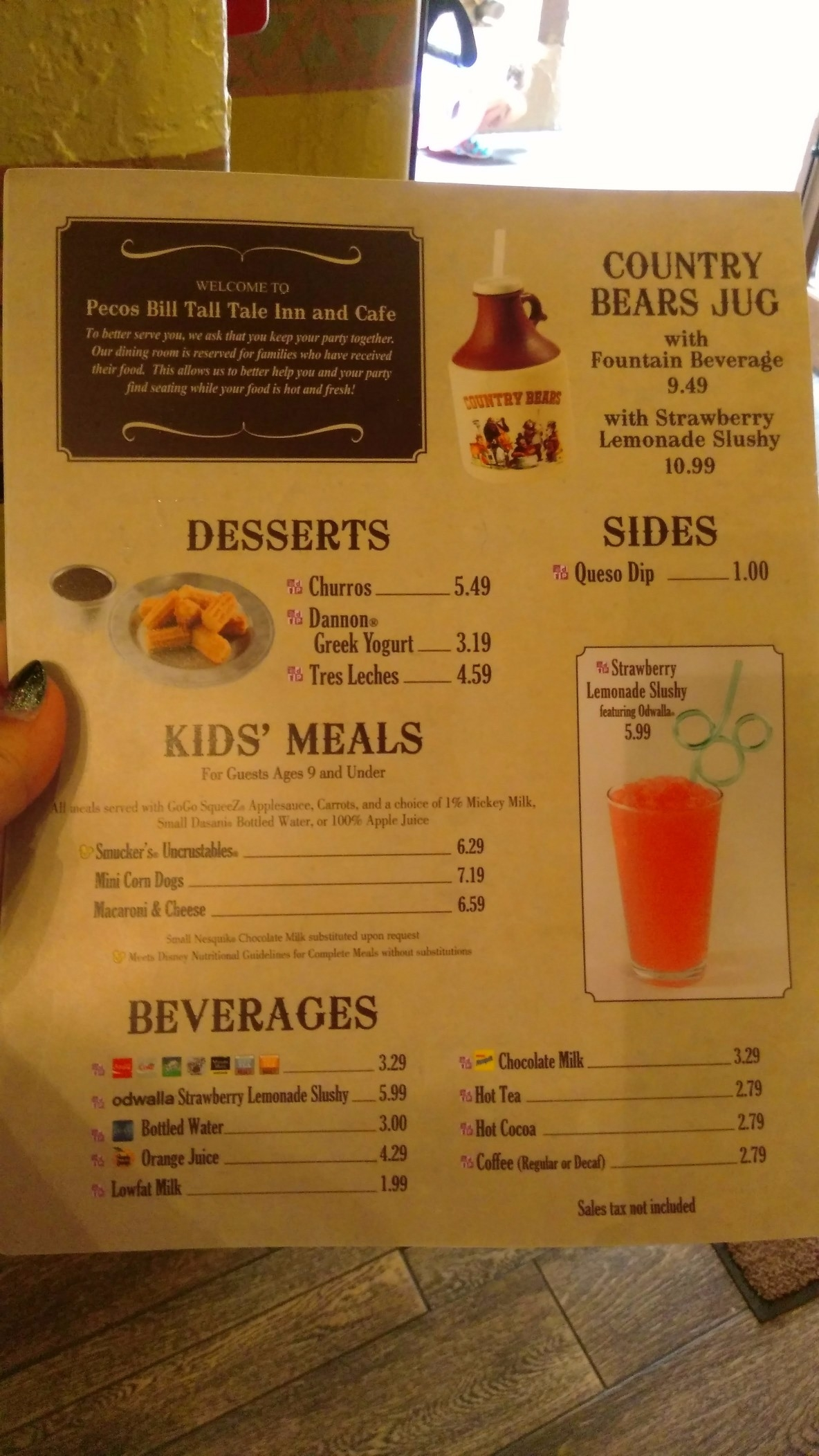 pecos bills snack credits magic kingdom (4)