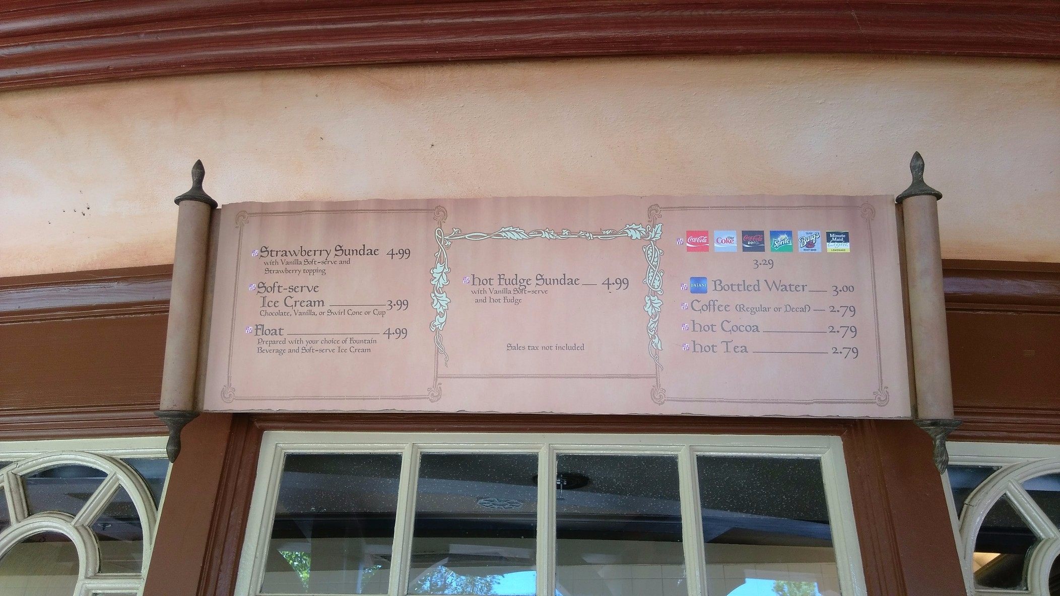 storybook treats menu snack credits magic kingdom 1 (1)