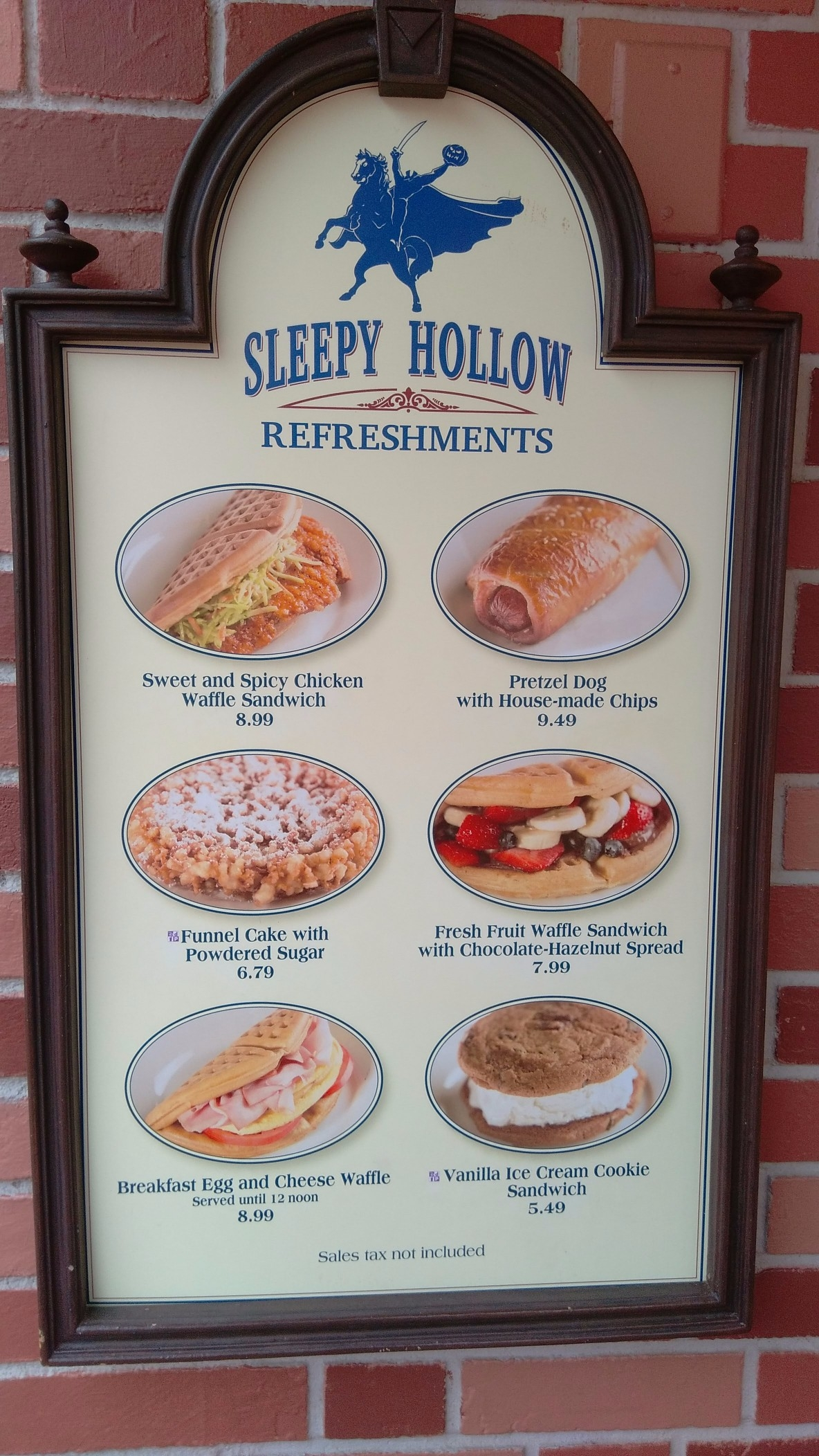 Sleepy Hollow menu snack credits magic kingdom (3)