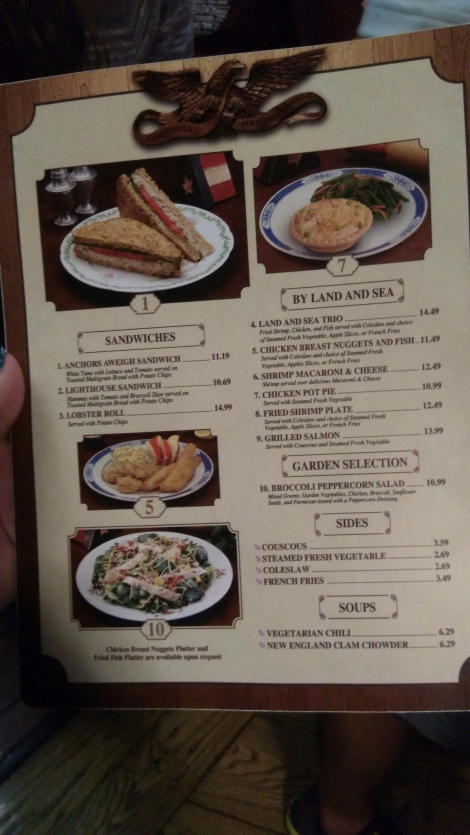 columbia harbour house snack credits at Magic Kingdom (2)