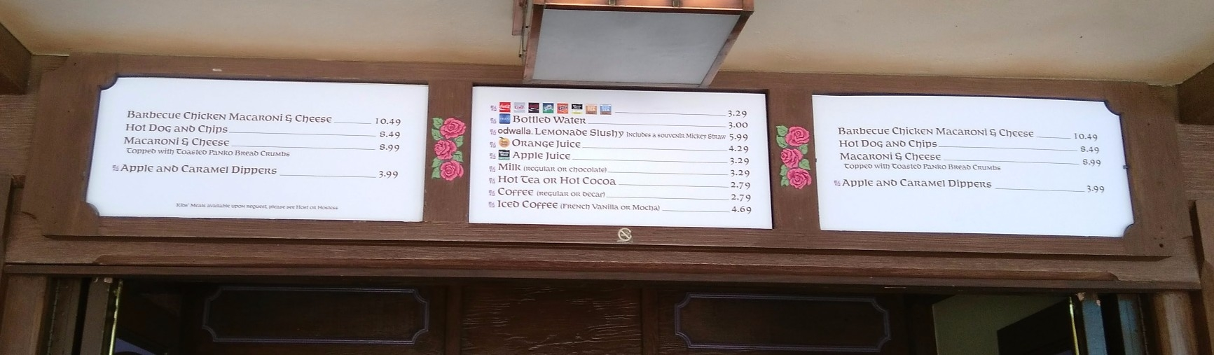 magic kingdom snack credits