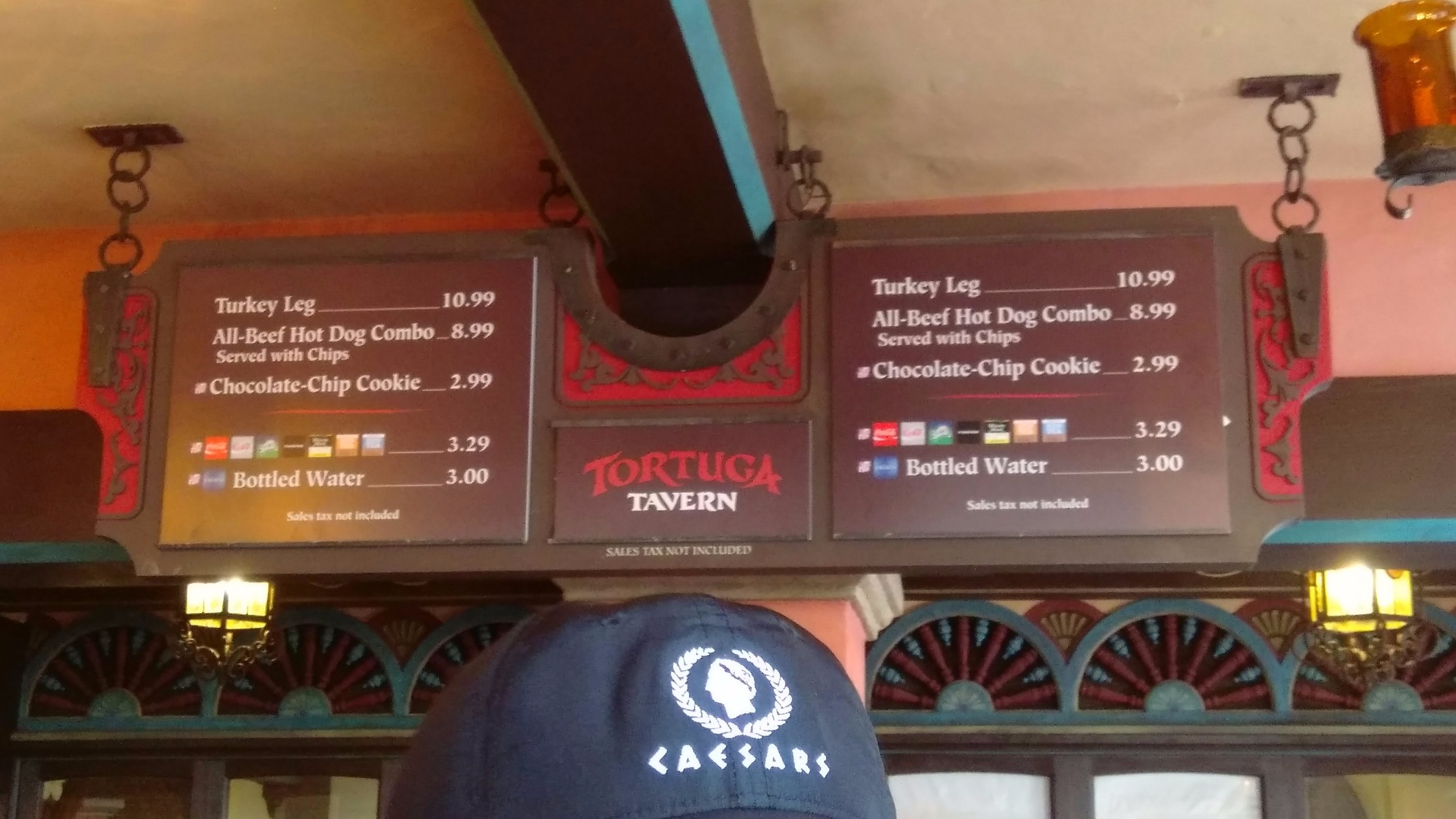 tortuga tavern menu snack credits magic kingdom