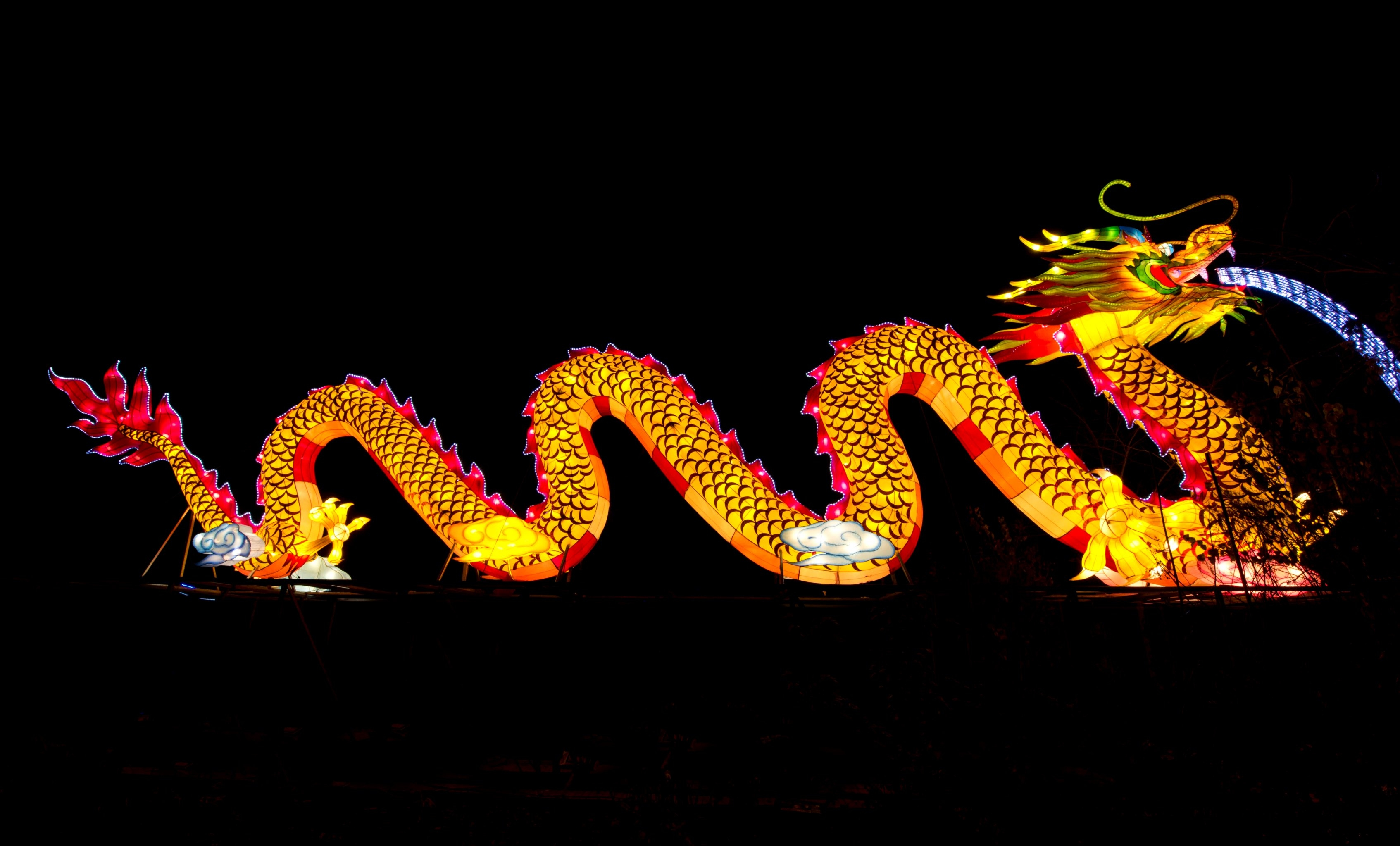 Magical Lanterns Festival, Roundhay Park, Leeds.Photograph by Richard Walker / www.imagenorth.net