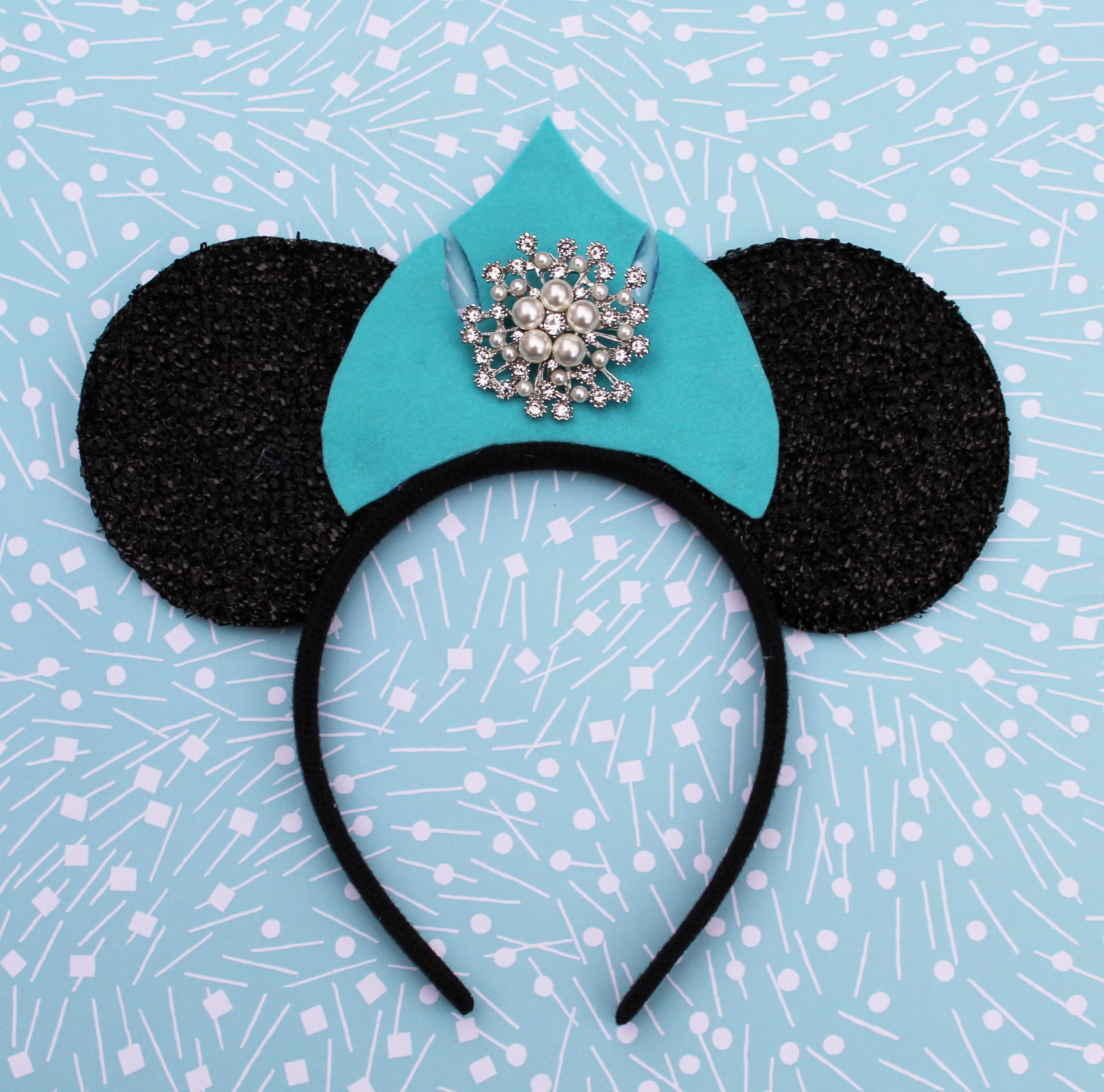 How to make Frozen Elsa Minnie Ears 1 (2)