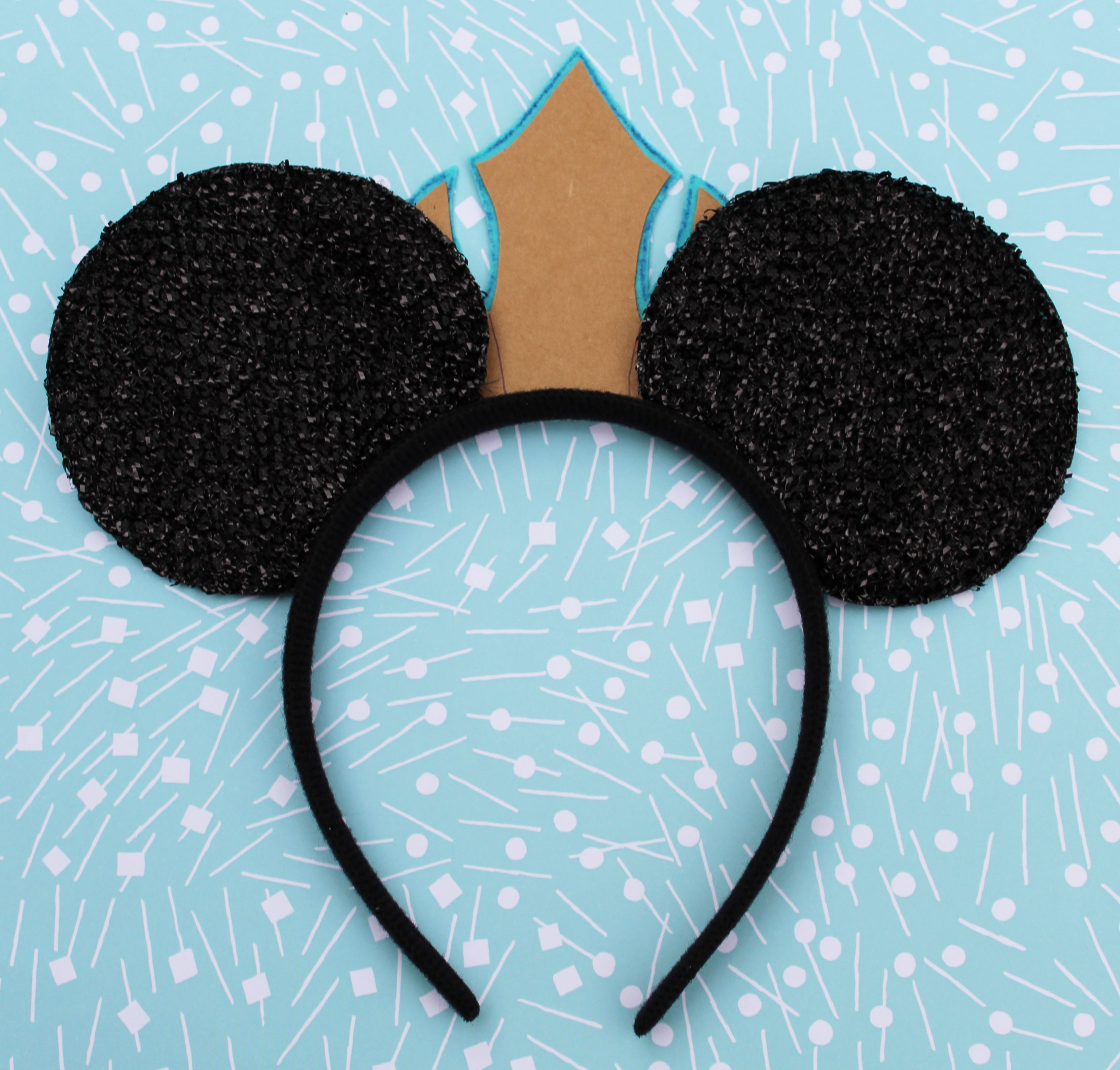 How to make Frozen Elsa Minnie Ears 1 (6)