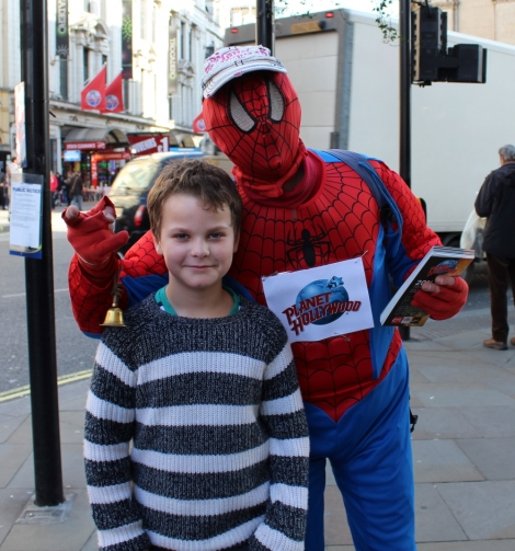 Planet Hollywood London Review 1