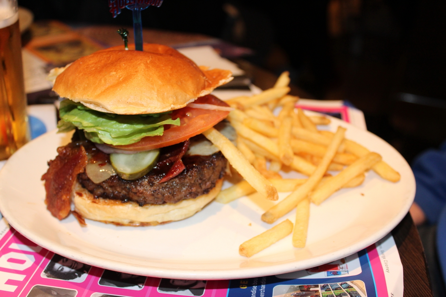 Planet Hollywood London Review 10