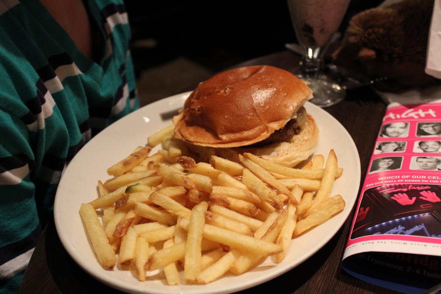 Planet Hollywood London Review 8