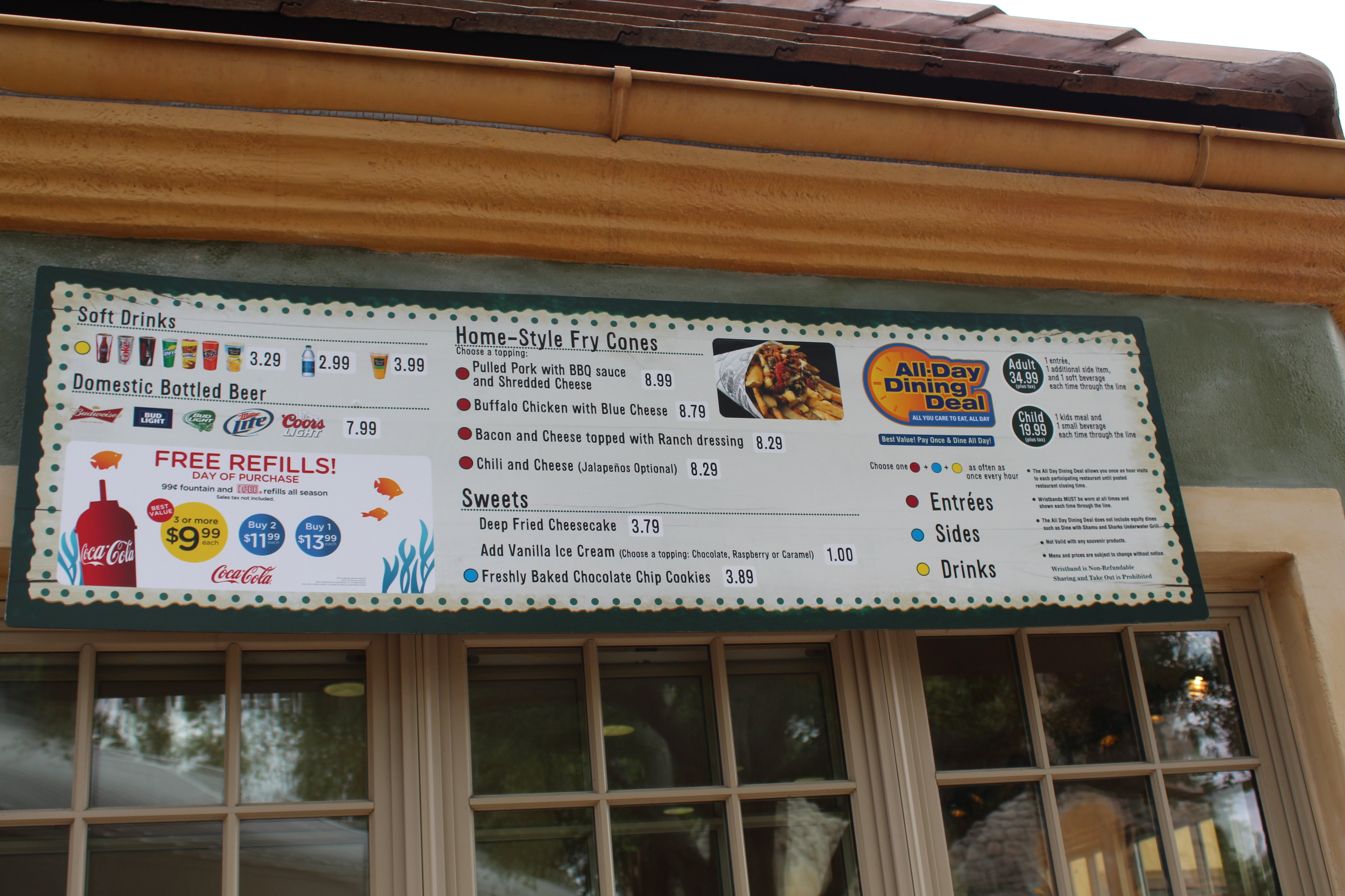 food menus and dining deal, what to eat at SeaWorld Orlando (16)