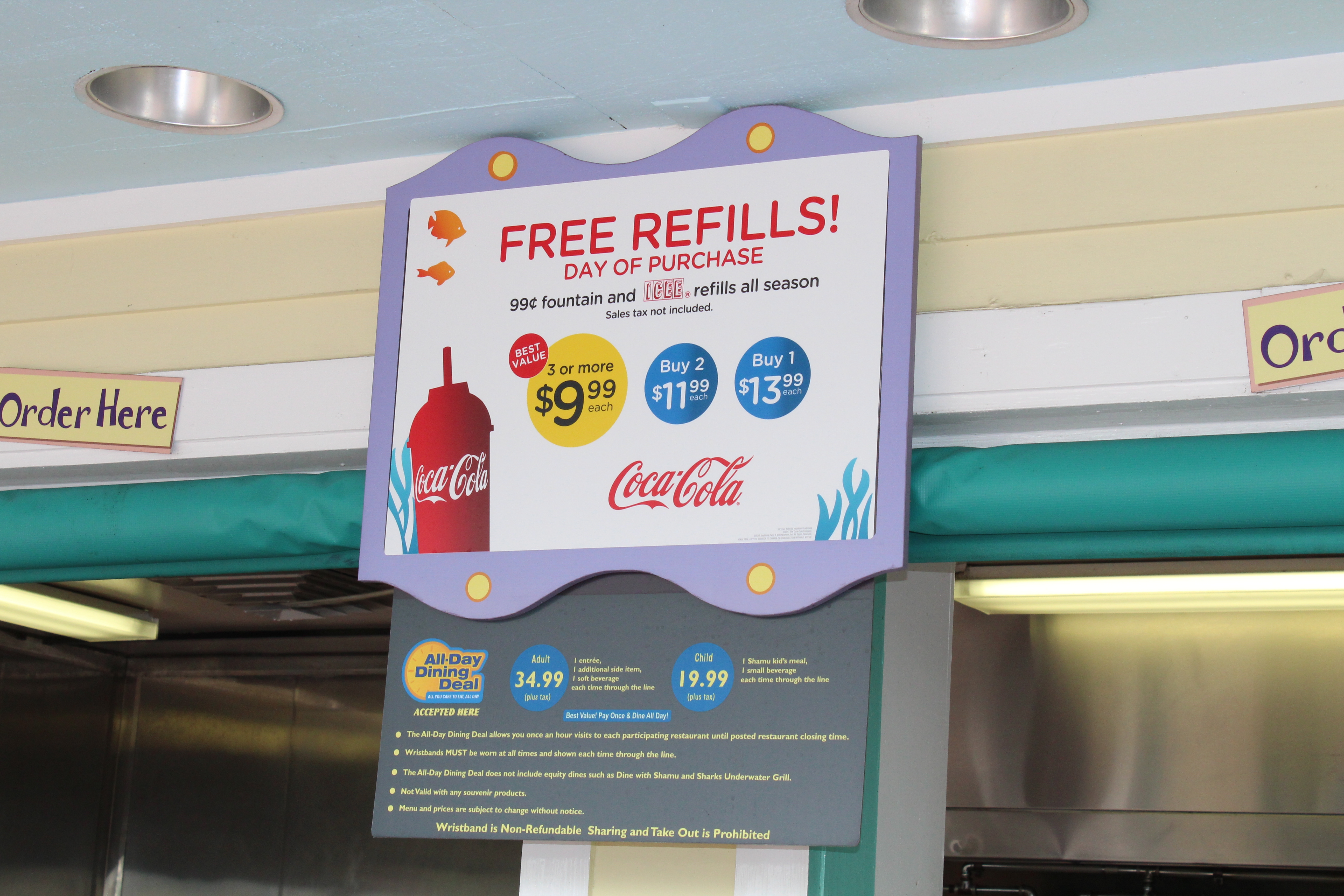 food menus and dining deal, what to eat at SeaWorld Orlando (4)