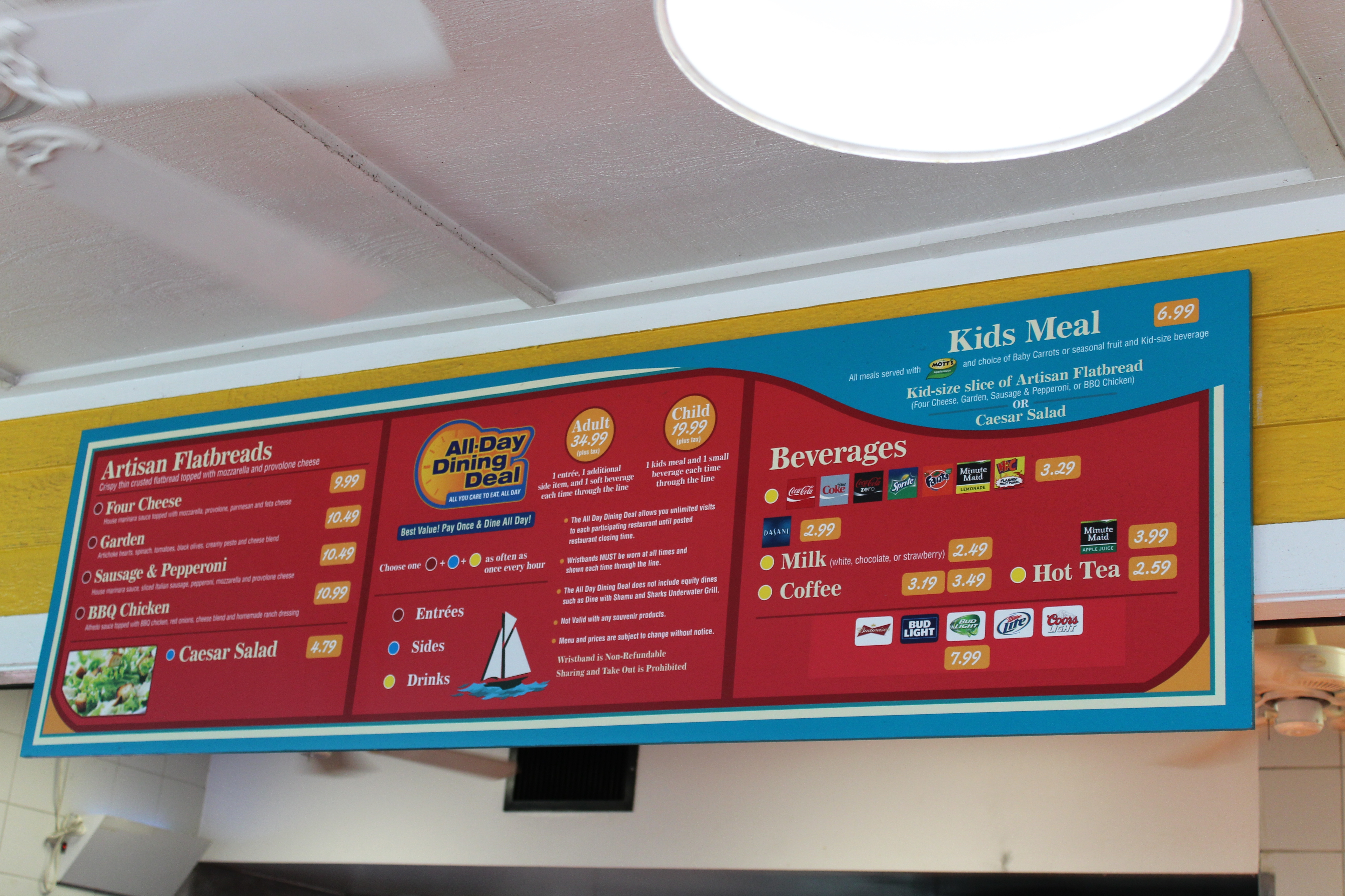 food menus and dining deal, what to eat at SeaWorld Orlando (14)