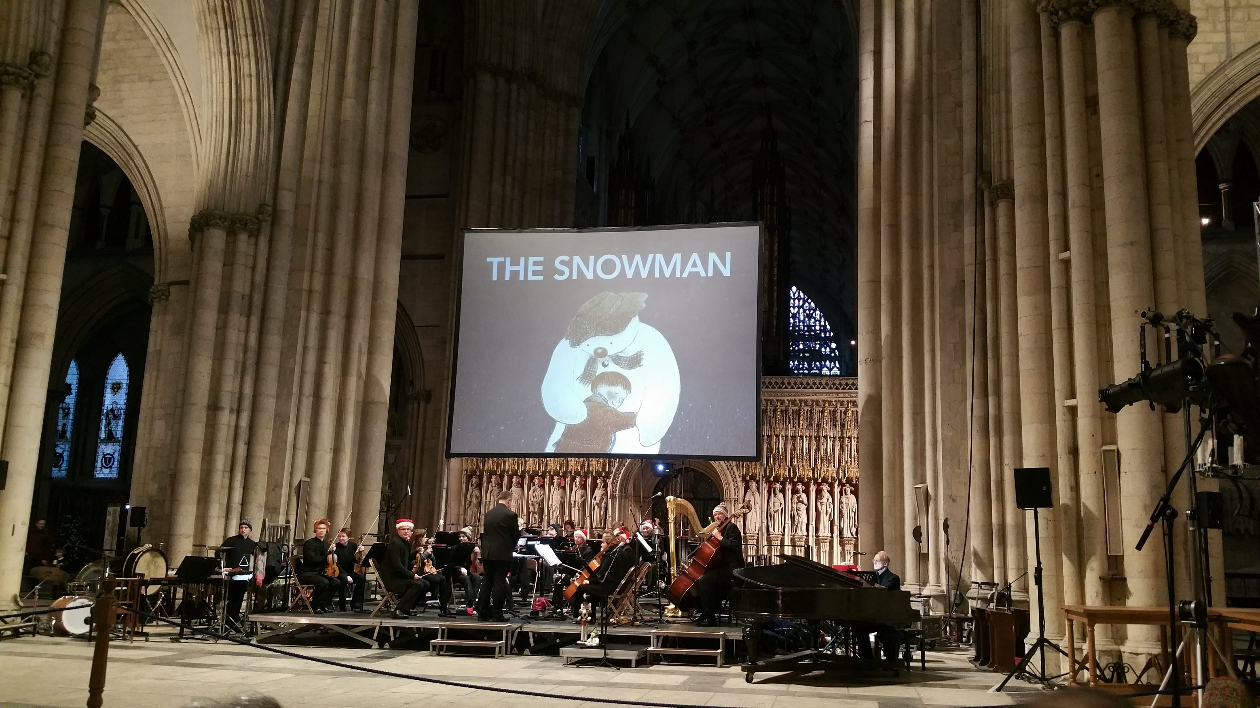 The Snowman York Minster (5)