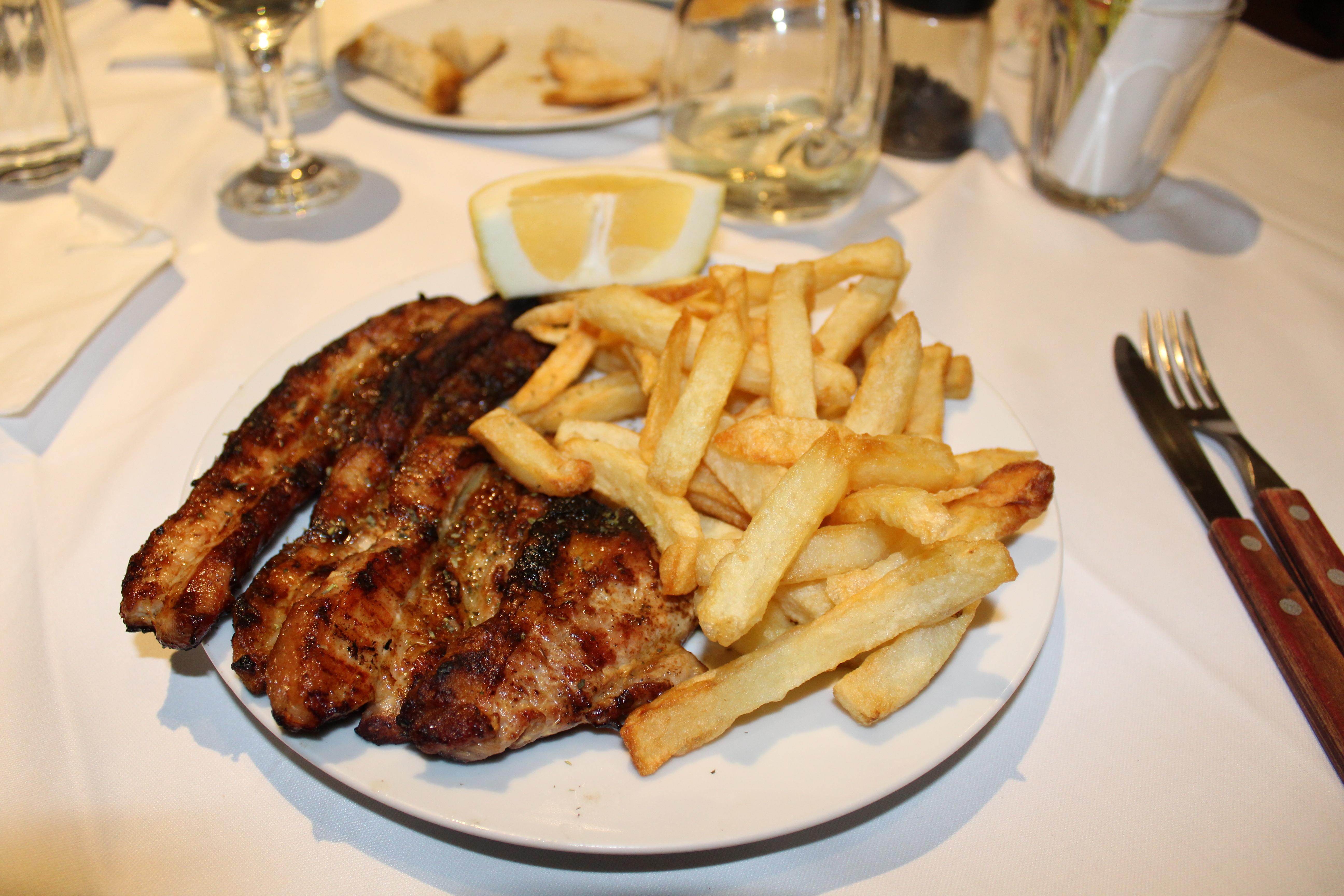 restaurants in stoupa Akrogiali (belly pork) (4)