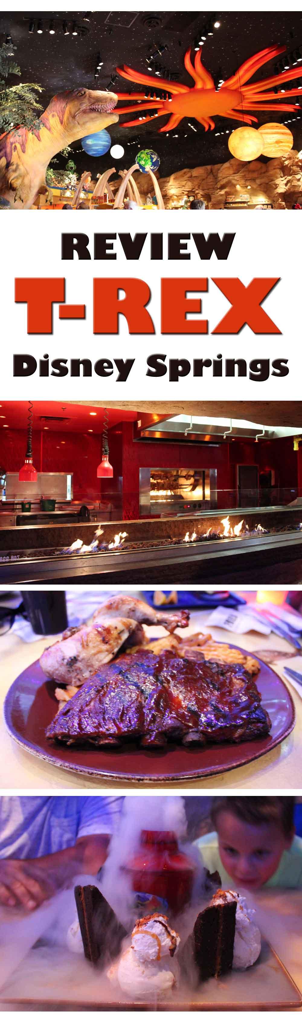 T rex in disney springs restaurant review yorkshire for Restaurant t rex