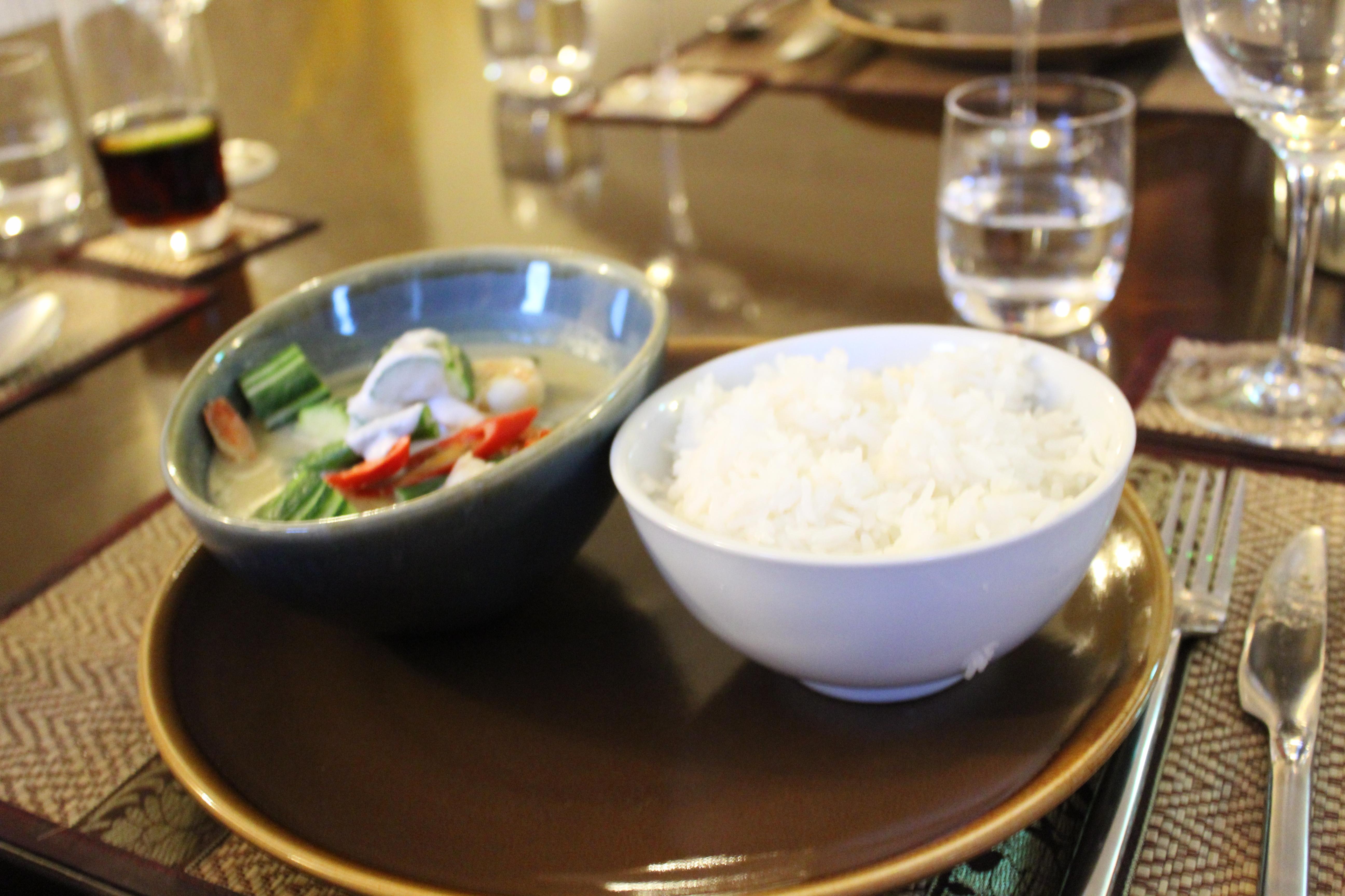 Thai Season by Pritsana Restaurant Pocklington York (Green Curry Coconut Rice)