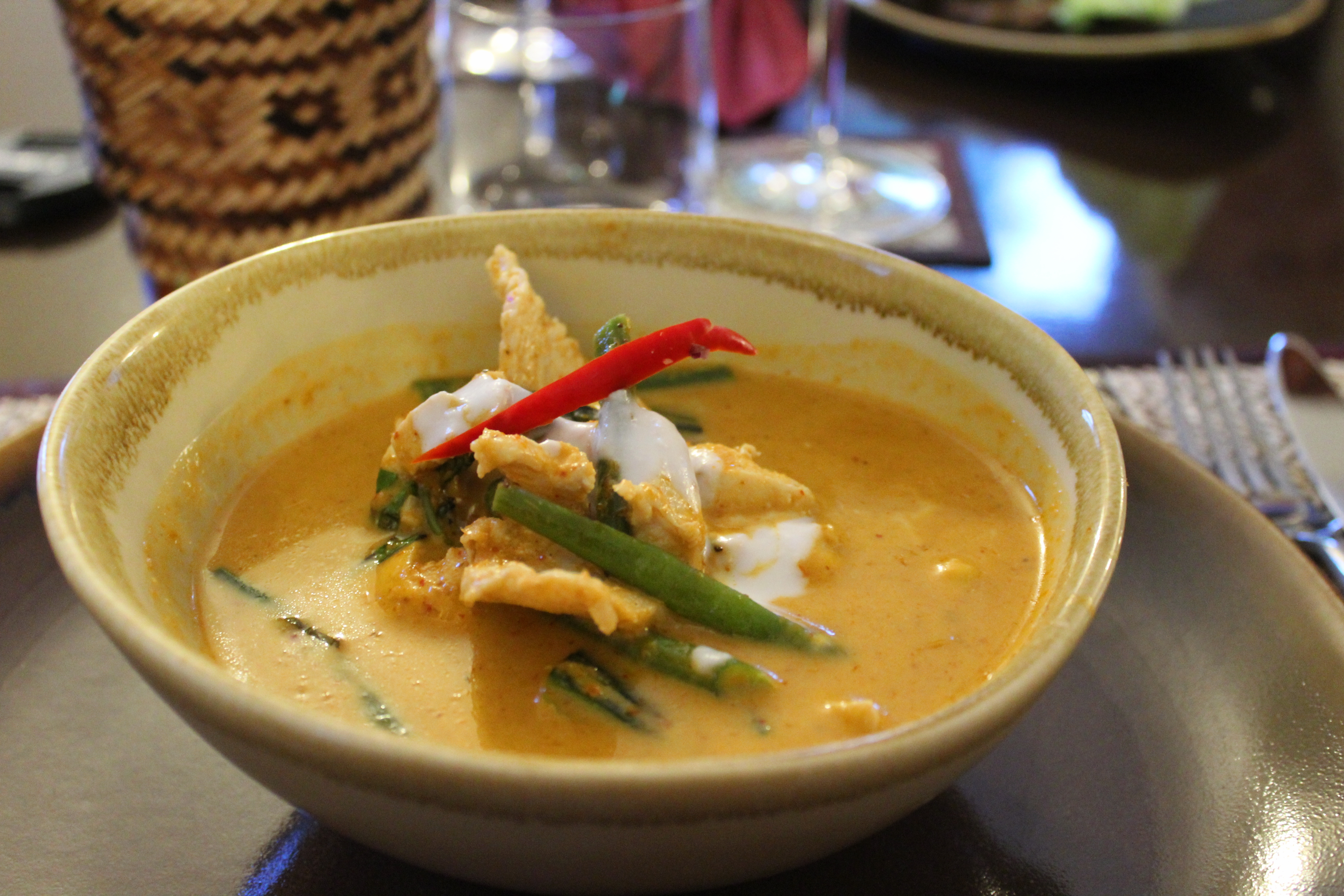Thai Season by Pritsana Restaurant Pocklington York (Red Thai Chicken Curry)