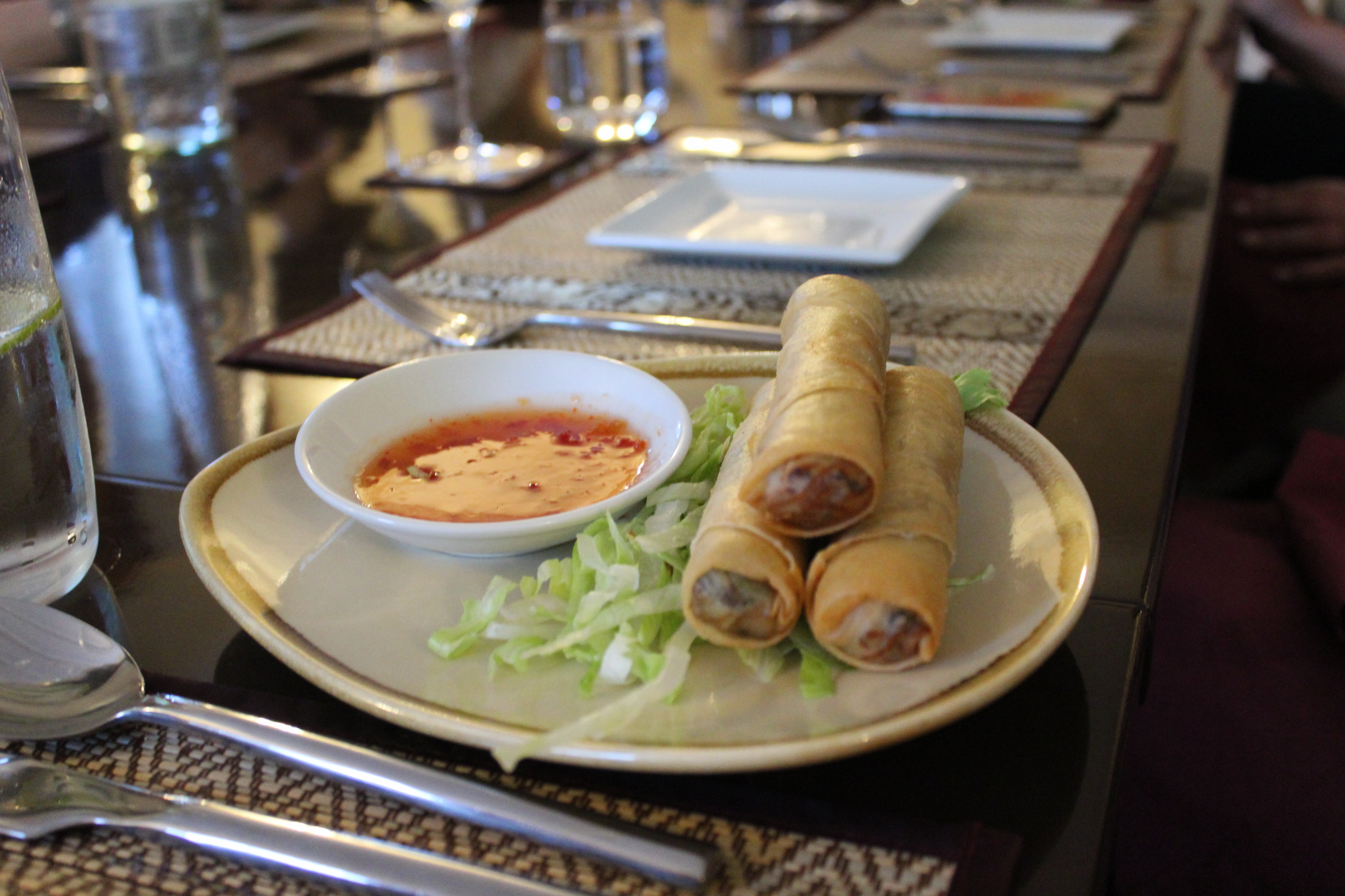 Thai Season by Pritsana Restaurant Pocklington York (Spring Rolls)