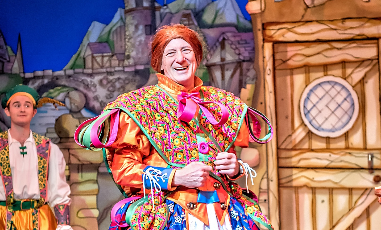Dame Berwick Kaler in Jack & the Beanstalk (2017-18) Photo Anthony Robling