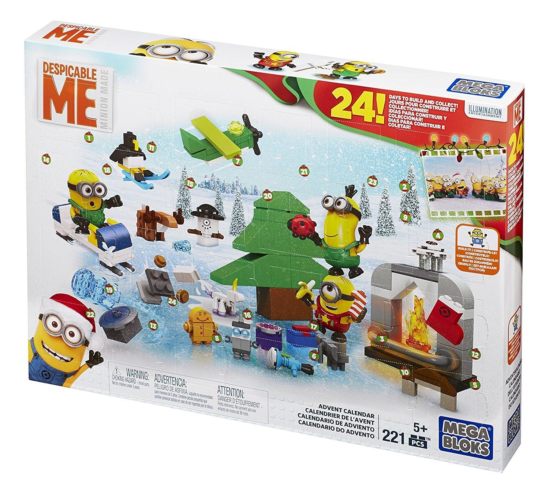 Toy advent calendar Mega Bloks Minions