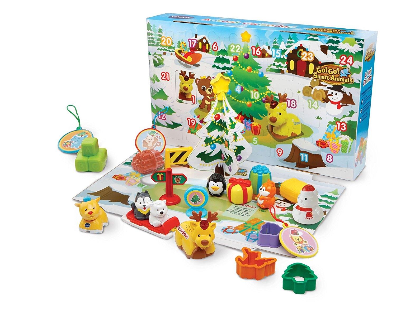 Toy advent calendar Toot Toot Advent Calendar