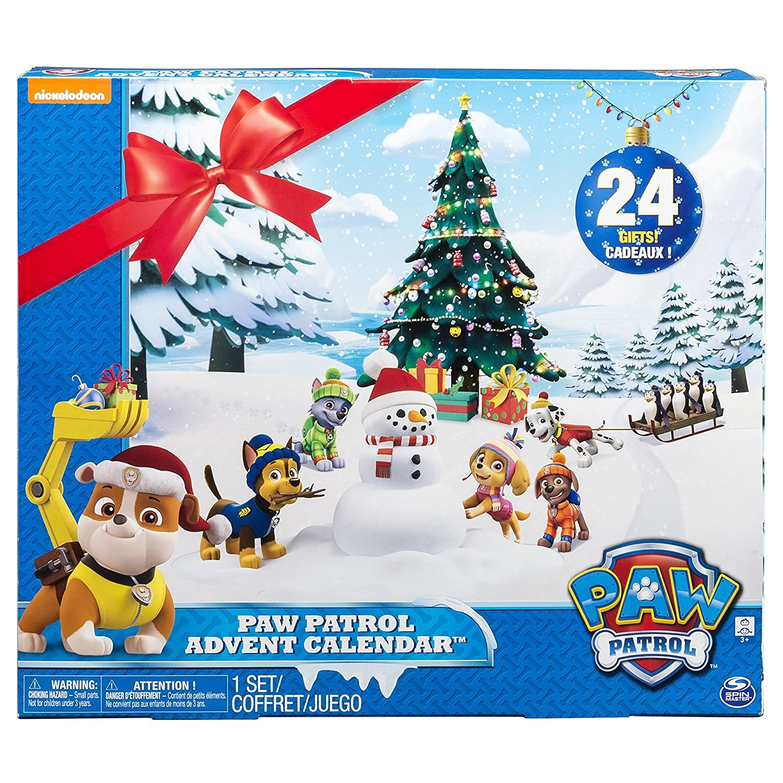 Toy advent calendar paw patrol
