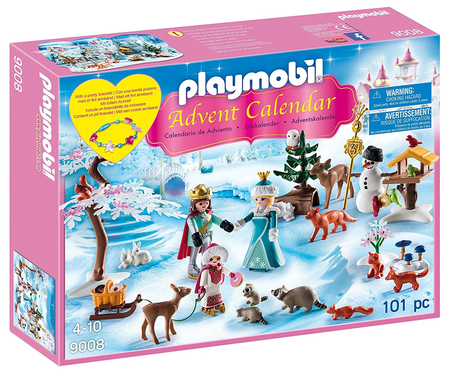 Toy advent calendar playmobil Royal ice skating