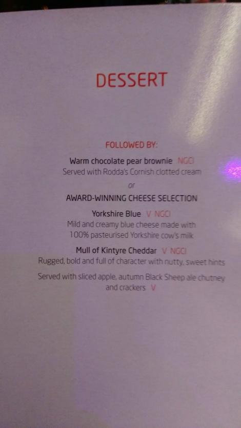 Virgin Trains First Class (dessert menu) (3)