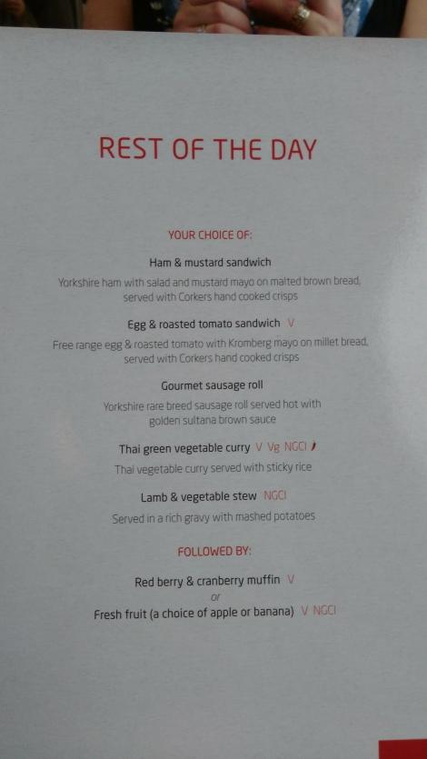 Virgin Trains First Class (rest of day menu) (1)