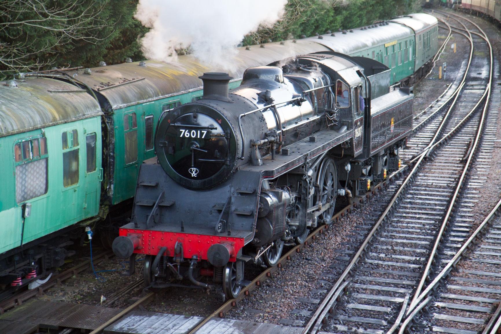 Watercress Line Steam Trains, Hampshire