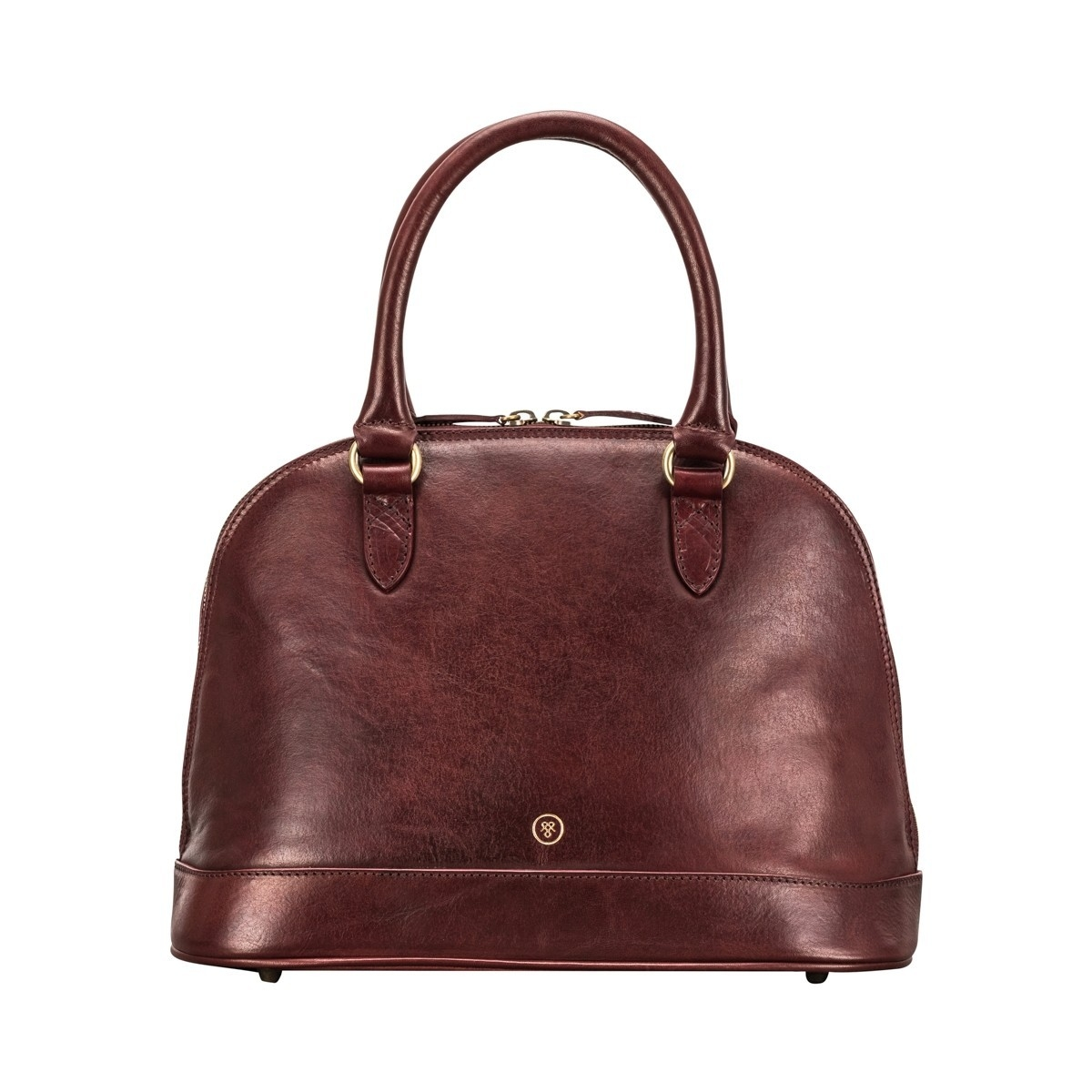 Maxwell Scott Rosa Italian Leather Handbag